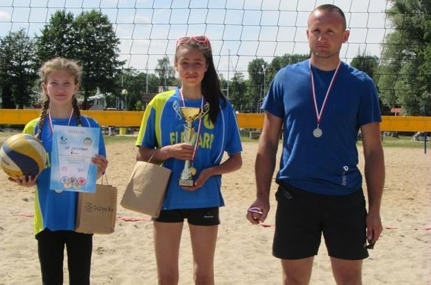 Piłka plażowa dziewcząt - Giżycko 13-06-2016