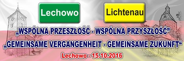 Jubileusz podpisania umowy partnerskiej Lichteanu - Pieniężno - Lechowo