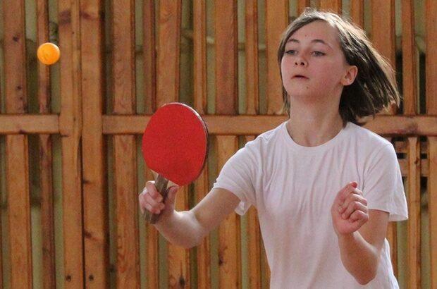Dziecięcy turniej tenisa stołowego w Lechowie